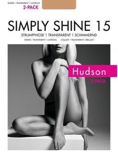 Hudson Simply Shine 15 Strumpfhose 2er Pack