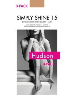 Hudson Simply Shine 15 Langsöckchen 3er Pack