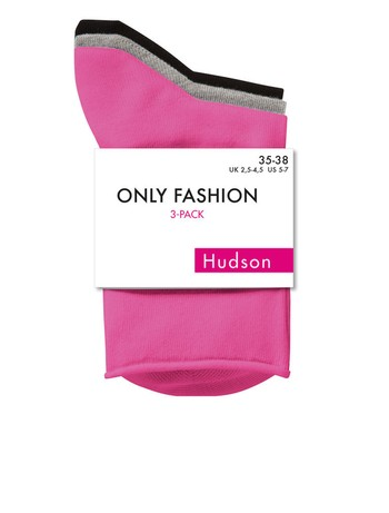 Hudson Only Fashion 3er Pack Socken