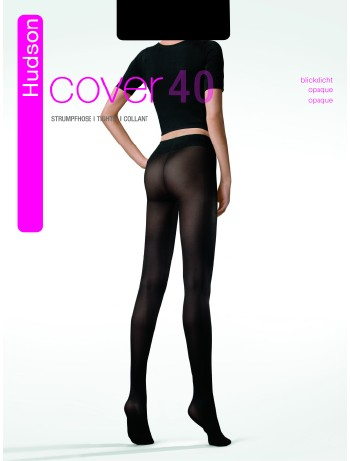 Hudson Cover 40 Blickdichte Strumpfhose, im Nylon und Strumpfhosen Shop