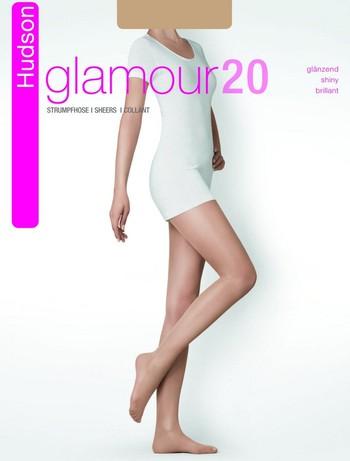 Hudson Glamour 20 glaenzende Strumpfhose, im Nylon und Strumpfhosen Shop