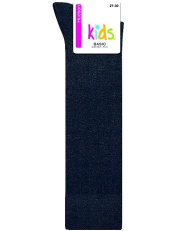 Hudson Kids Basic Kniestrumpf, im Nylon und Strumpfhosen Shop