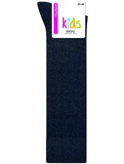 Hudson Kids Basic Kniestrumpf