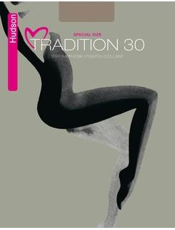 Hudson Tradition 30 Special Size Strumpfhose