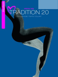 Hudson Tradition 20 Special Size Strumpfhose