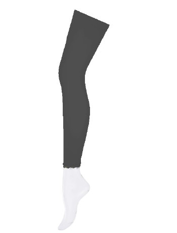 Hudson Basic Kinder Leggings schwarz