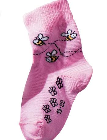 Hudson Happy Bees Socken fuer Babies, im Nylon und Strumpfhosen Shop