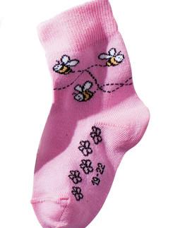 Hudson Happy Bees Socken fuer Babies