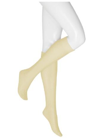 Kunert Edelweiss Style Damenkniestrümpfe ivory