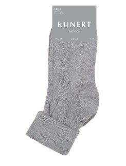Kunert Fashion Gleaming Crochet Damensocken
