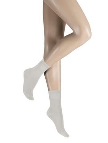Kunert Blue Socken aus regenerierten Materialien lichtgrau