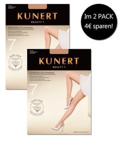 Kunert Beauty 7 Strumpfhose Ultra-Transparent Doppelpack
