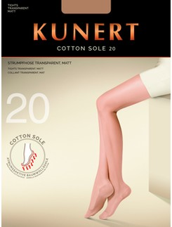 Kunert Cotton Sole 20 Feinstrumpfhose