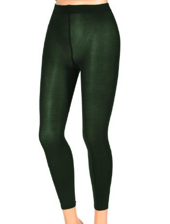 Kunert Sensual Velvet - Leggings mystic-green