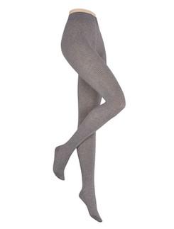 Kunert Fashion Elegant Rib Baumwollstrumpfhose