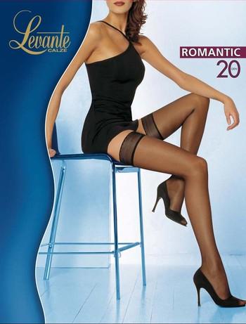 Levante Romantic 20 Halterlose Struempfe, im Nylon und Strumpfhosen Shop