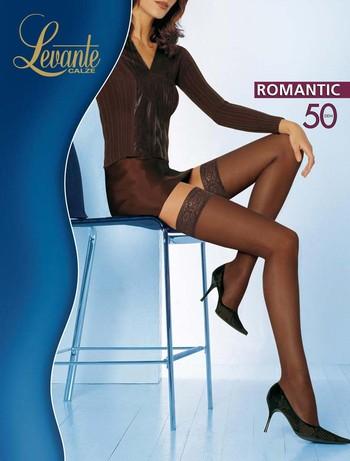 Levante Romantic 50 halterlose Struempfe, im Nylon und Strumpfhosen Shop