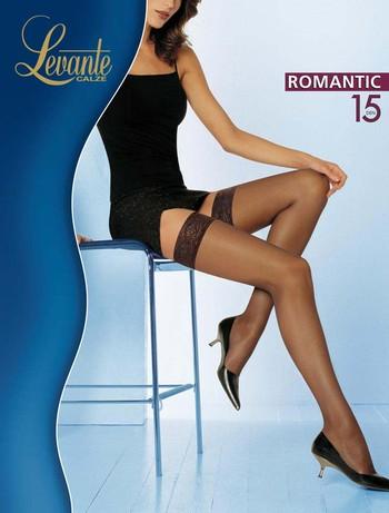 Levante Romantic 15 Halterlose Struempfe, im Nylon und Strumpfhosen Shop