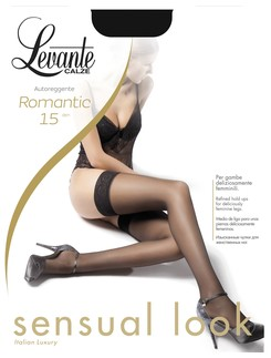 Levante Romantic 15 Halterlose Struempfe