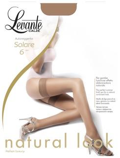 Levante Solare 6 Halterlose Strümpfe