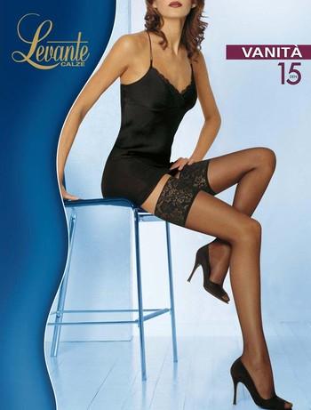 Levante Vanita 15 Halterlose Struempfe, im Nylon und Strumpfhosen Shop