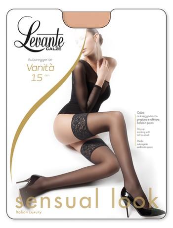 Levante Vanita 15 Halterlose Strümpfe