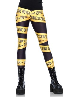 Leg Avenue Tatort Absperrung - Leggings