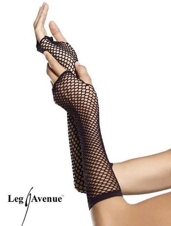 Leg Avenue fingerlose Netzhandschuhe, im Nylon und Strumpfhosen Shop