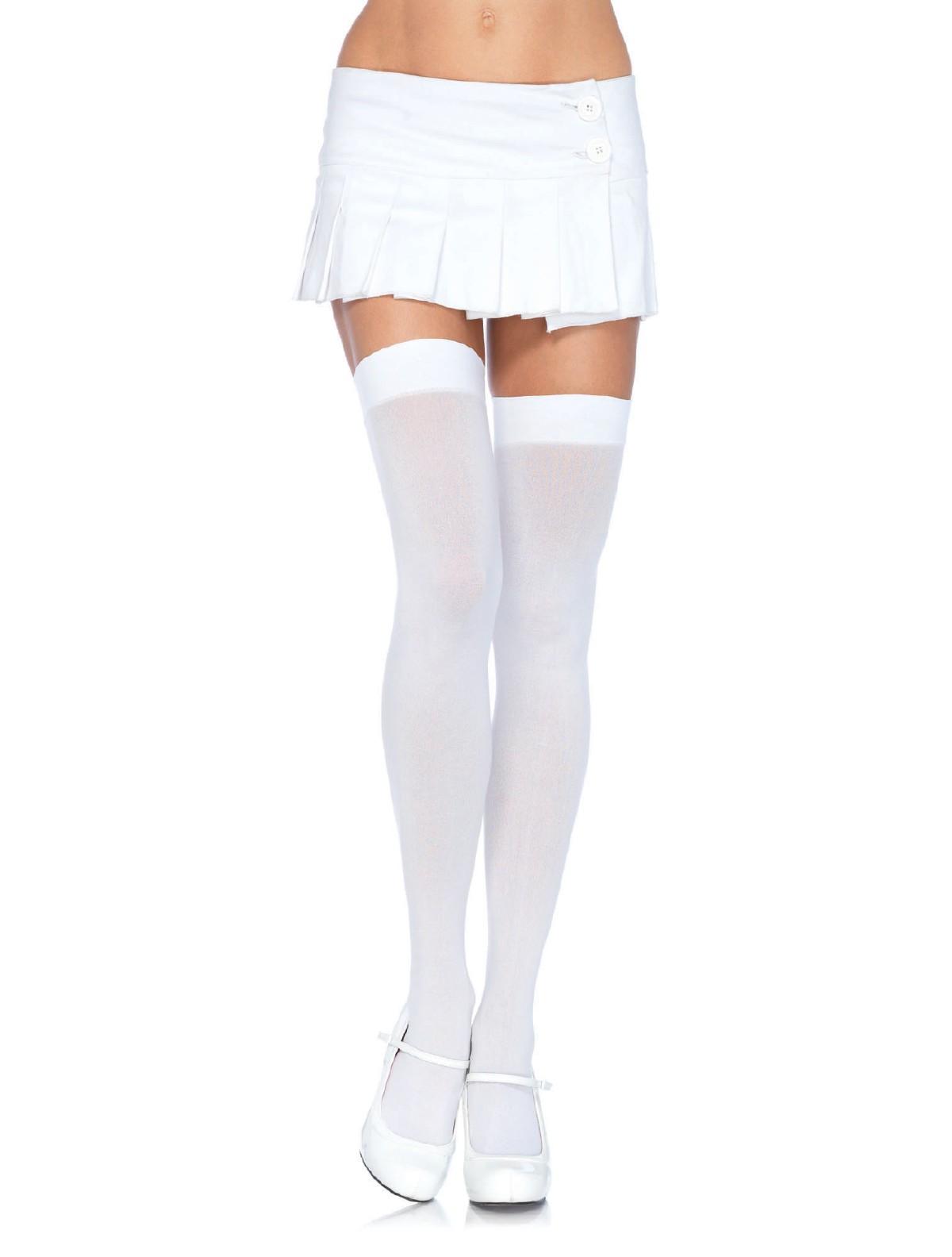 preiswert kaufen Mode eine große Auswahl an Modellen Leg Avenue blickdichte halterlose Strümpfe