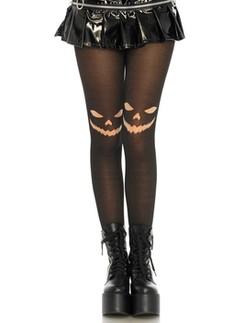 Leg Avenue Jack-o-Lantern Halloween-Strumpfhose