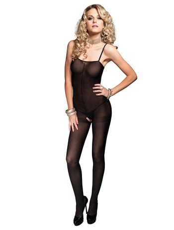 Leg Avenue Bodystocking schwarz