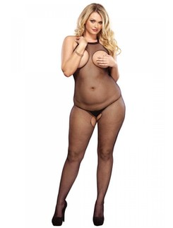 Leg Avenue Peek-A-Boo Netz Bodystocking