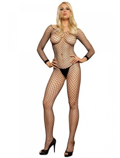 Leg Avenue grobmaschiger Netz-Bodystocking