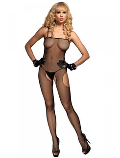 Leg Avenue Suspender Netz Bodystocking
