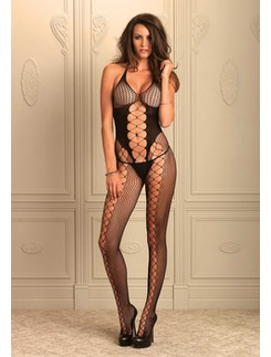 Leg Avenue Multinet nahtloser Bodystocking