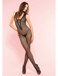Leg Avenue Häkelnetz Bodystocking