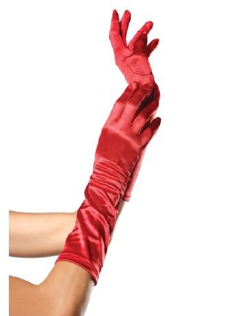 Leg Avenue Satin Handschuhe, im Nylon und Strumpfhosen Shop