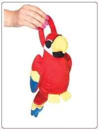 LA Polly Parrot Papageientasche, im Nylon und Strumpfhosen Shop