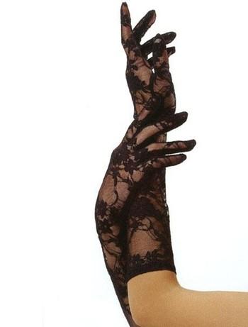 Leg Avenue Spitzen-Handschuhe, im Nylon und Strumpfhosen Shop