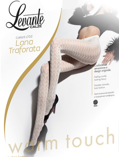 Levante Lana Traforata Warm Touch Openwork wool Tights