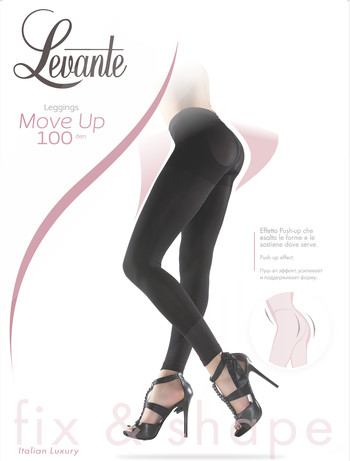 Levante Move up - Leggings schwarz
