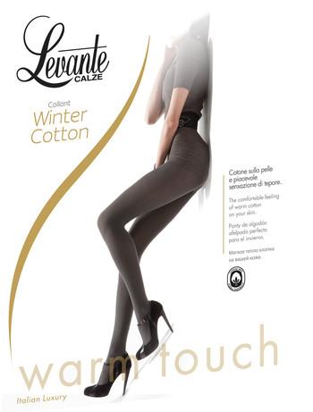 Levante Winter Cotton Baumwollstrumpfhose, im Nylon und Strumpfhosen Shop