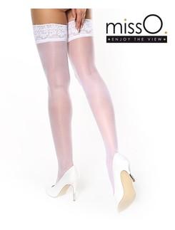 MissO Halterlose Strümpfe mit Spitze