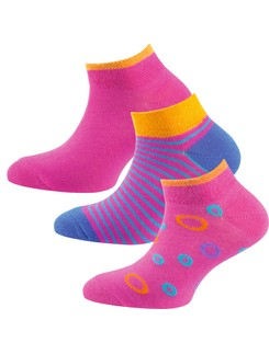 Nur Die Kids Sneaker Socken Dreierpack