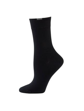 Nur Die Passt Perfekt Baumwoll Socken 3er Pack schwarz