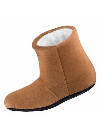 Nur Die Kinder Kuschel Hausschuh Socke camel