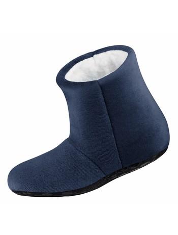 Nur Die Kinder Kuschel Hausschuh Socke royalblau