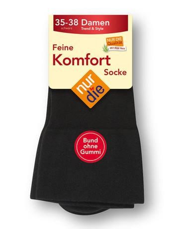 Nur Die feine Komfort Socke, im Nylon und Strumpfhosen Shop