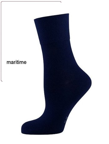 Nur Die feine Komfort Socke maritime