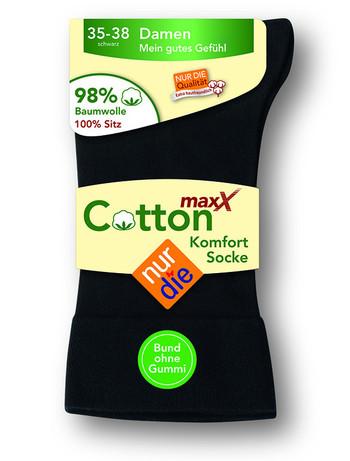 Nur Die Cotton Maxx Komfort Damensocken